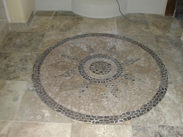 Residential New Consruction - Decorative Entry Way Floor